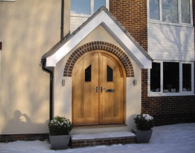Extension Cleadon Village Door