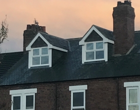 Jarrow-pitched dormers