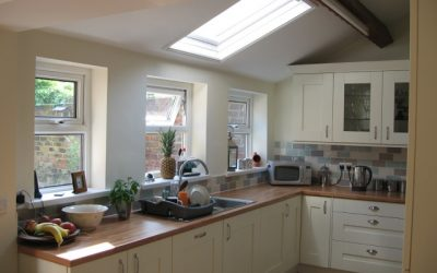 Victorian house rebuild and full loft conversion in Jarrow