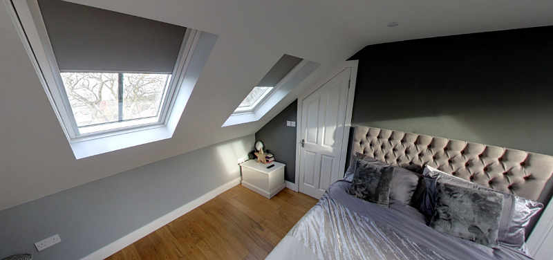 Woodland View Loft Conversion Bedroom