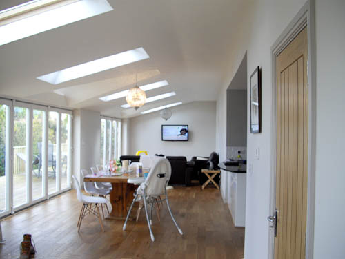 attic flat ideas - Loft conversions and building extensions gallery in East